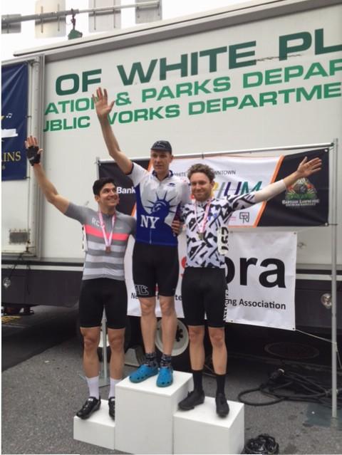 NY State Criterium Championships 2016 (cat 4) podium