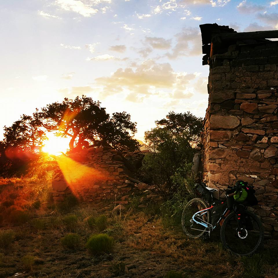 Tour Divide old church New Mexico